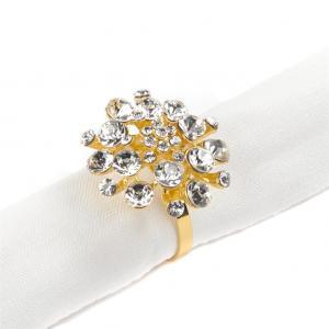 Szalvéta gyűrű arany