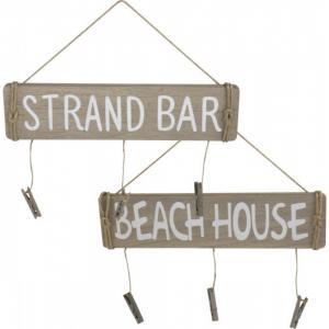 """Tábla felirattal """"Beach House"""""""