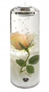Rózsás henger teamécsestartó nagy (Limitált termék)