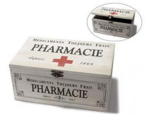 Teatartó doboz PHARMACIE (elfogyott)