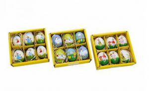 Természetes húsvéti tojás szett