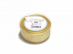 Textil szalag Jette citromsárga