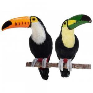 Tukán madár 2db (fa nem tartozék)