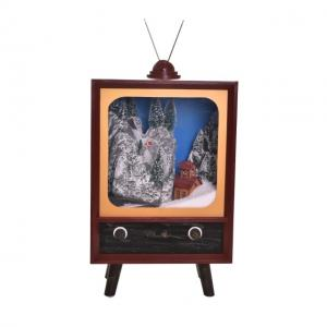 Tv világitó, havazó, zenélő