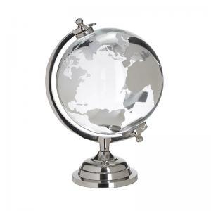 Üveg fém földgömb nagy