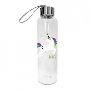 Üveg palack unikornis