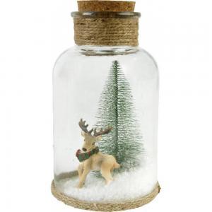 Üvegbúra karácsonyi nagy