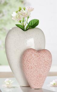 Váza sziv forma