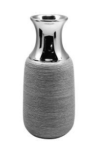 Váza szürke modern