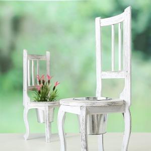 Virágtartó szék