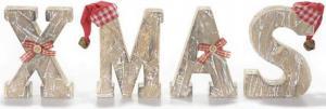 XMAS fa betűk